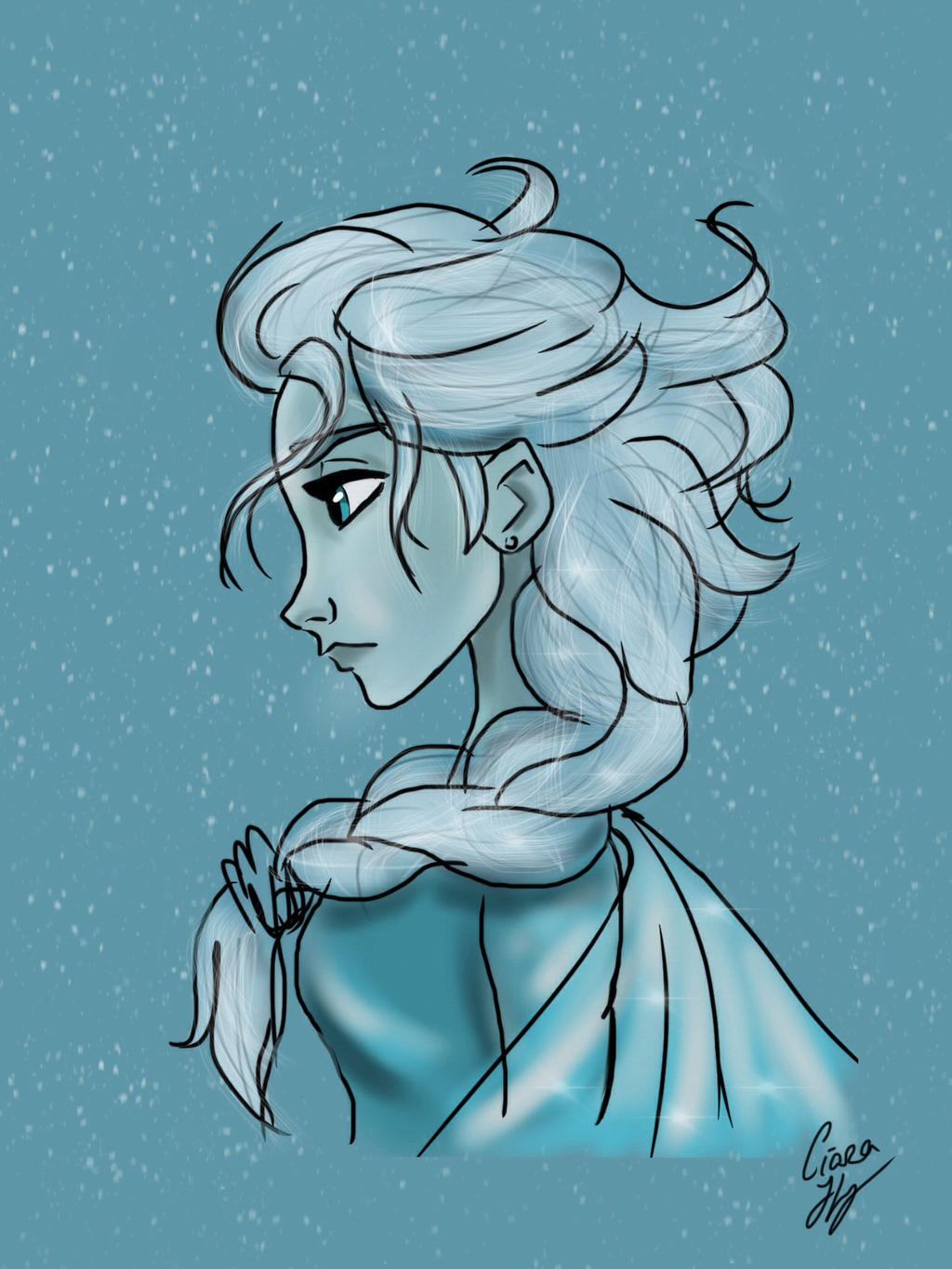Elsa by The-Girl-Who-Waited