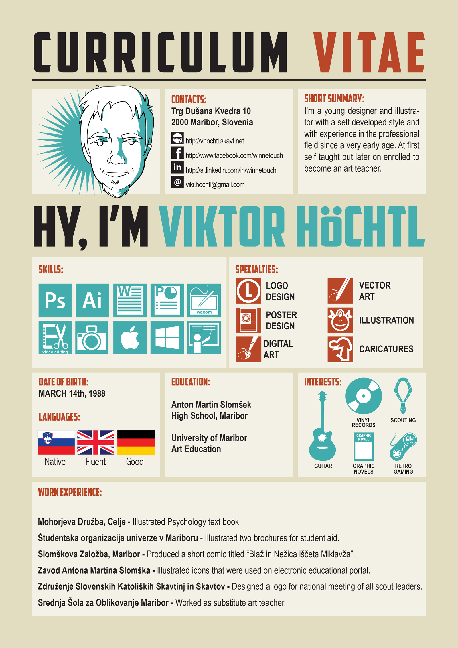 My Curriculum Vitae by winnetouch
