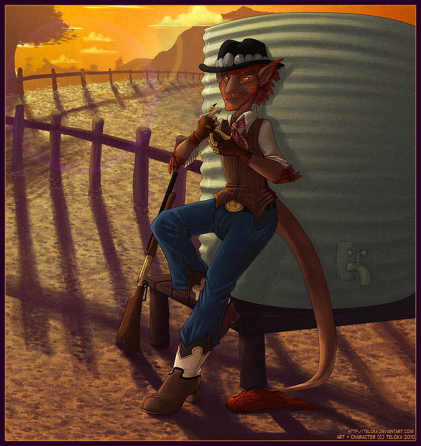 + Cowboy Casanova + by Teloka