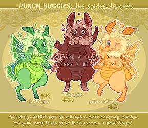 [CLOSED] Punch Buggie Triplets