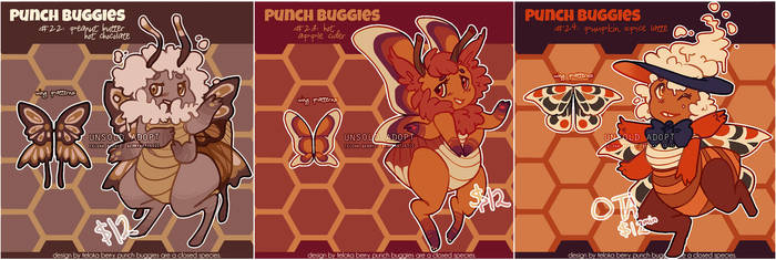 punch buggies: fall flavour (2/3 open)