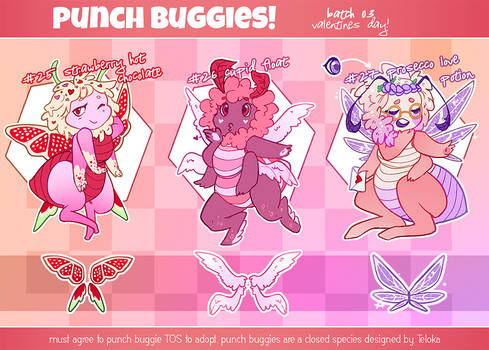 punch buggies: valentine's day! [2/3 open]