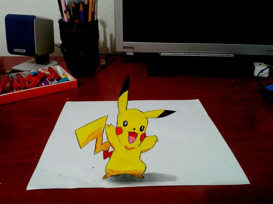 how to draw 3d awesome drawings
