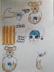 mouse and tiger by Retsu-Iruku