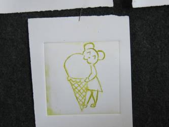 mouse who eats ice cream by Retsu-Iruku
