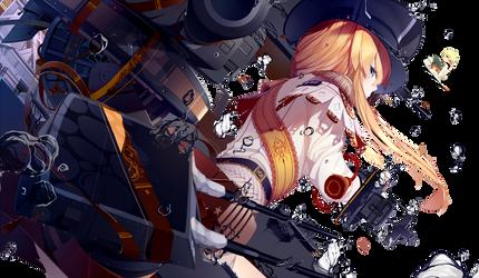 [Render] Bismarck by UmioKimura