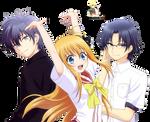 [Render] Yusa, Shunsuke, and Jojiro