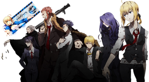 [Render] Fate Zero Servants