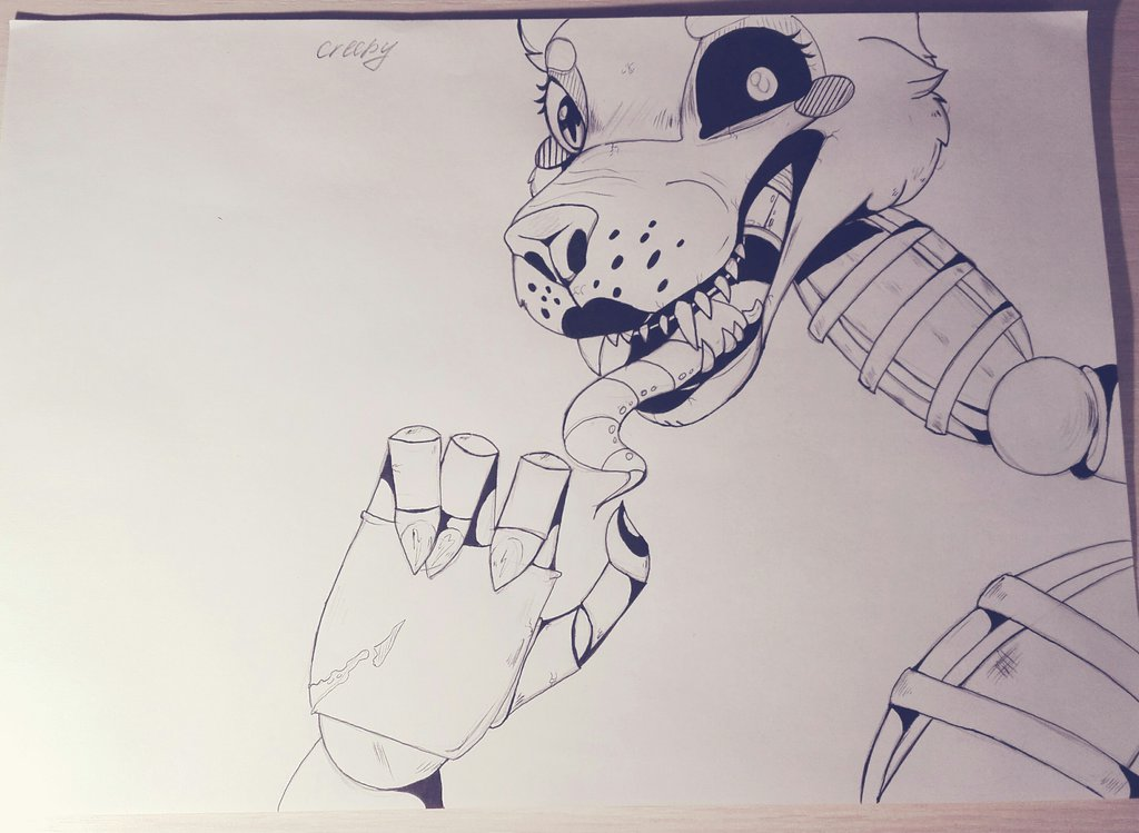 Mangle (FNaF) by CreepyFreddy