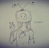 :: I love TV :: by CreepyFreddy