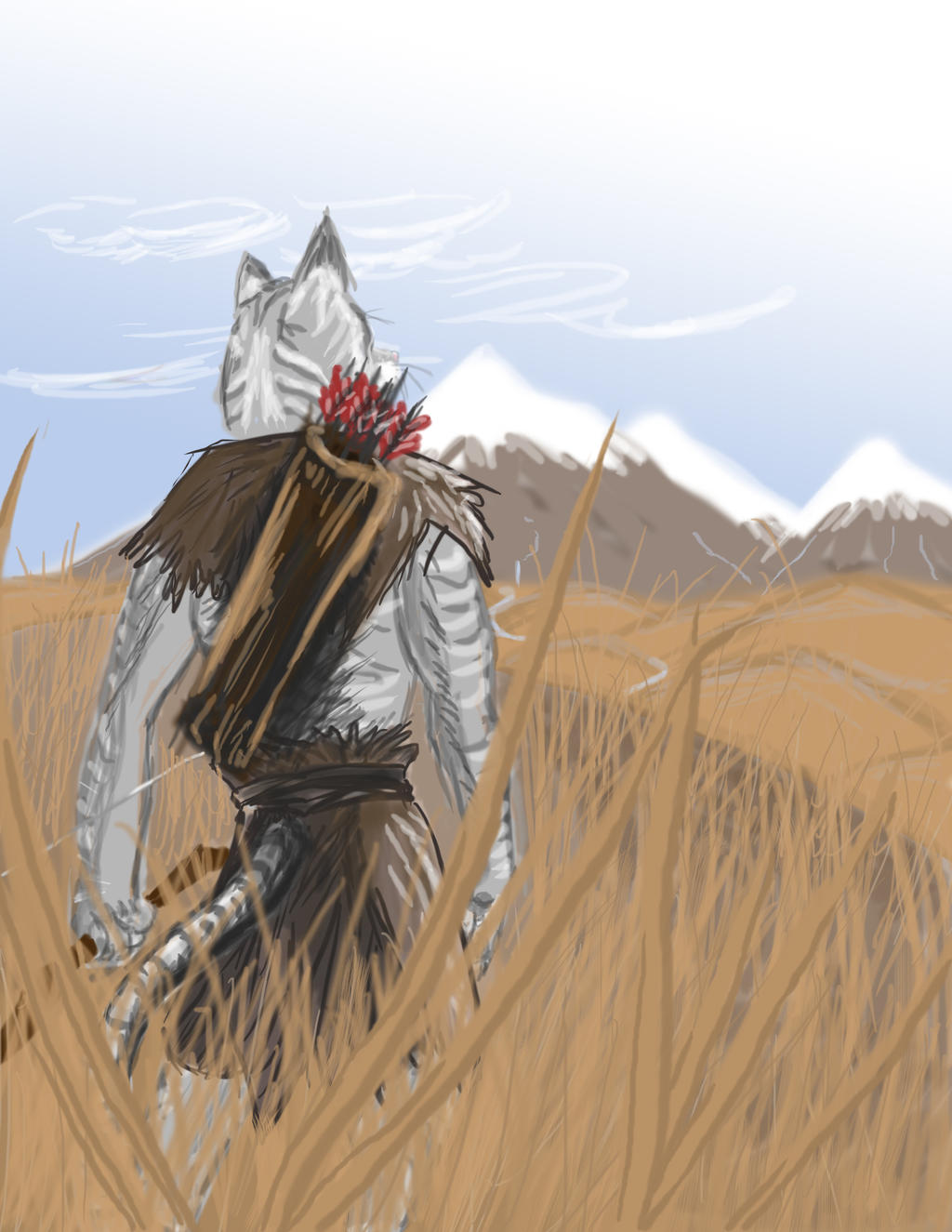 Kznraast's First Step into Skyrim by Letviathan
