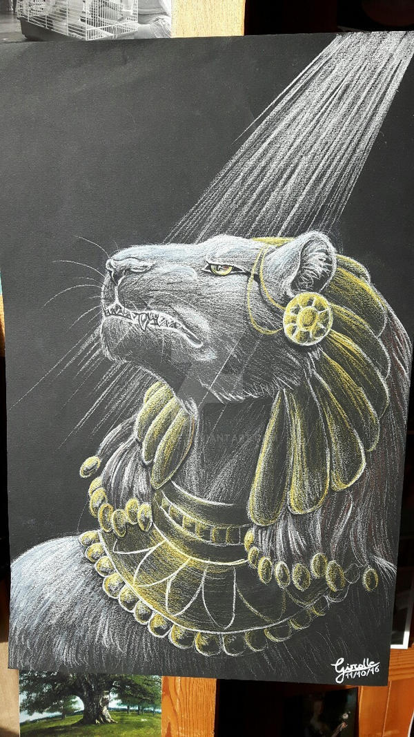 Sekhmet by Girole