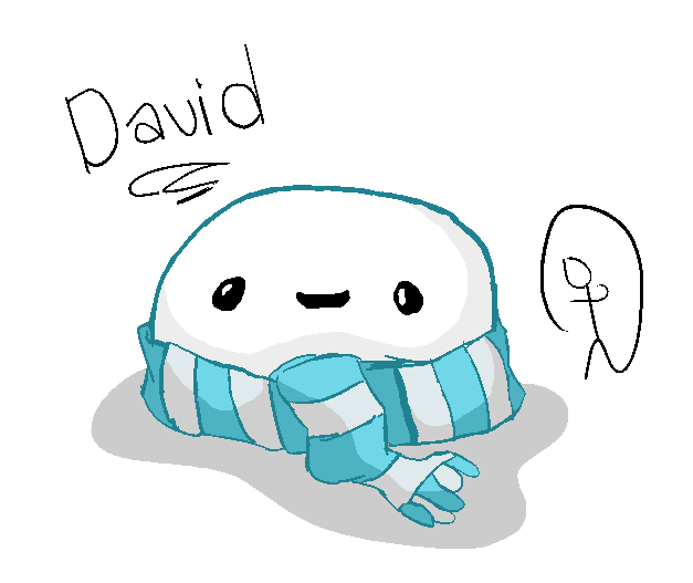 David in A Scarf by AidanTheGaymer