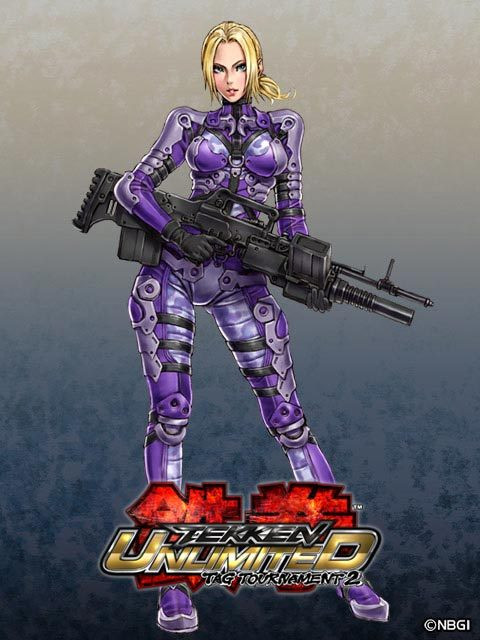 Tekken Ultimate Tag 2 Nina Williams By Glamooour On Deviantart