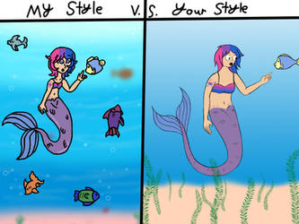 MintyMagic74 My Style vs. Your Style by Forecaster71