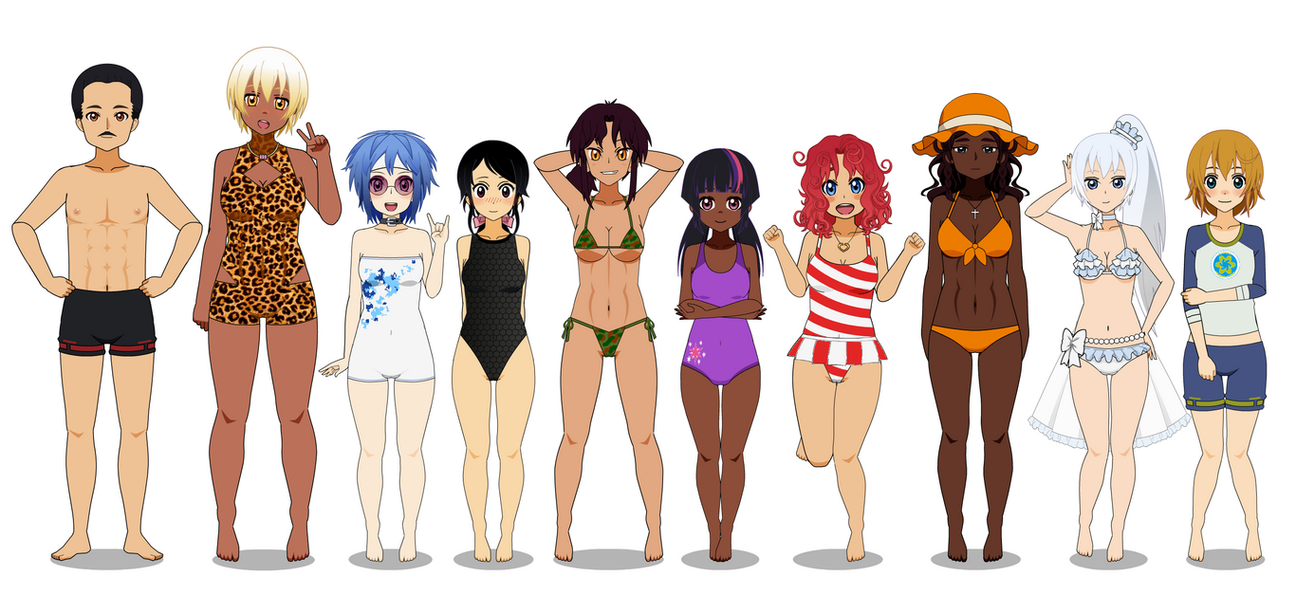 Tags Of Avalon Angels In Swimsuits By Kathara Khan On Deviantart