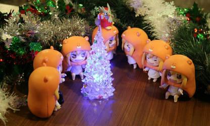 Merry Umaru Christmas by storyofhonami