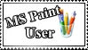 MS Paint User Stamp by KawaiiMonstr