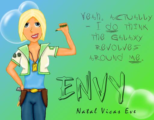 Envy Tagline