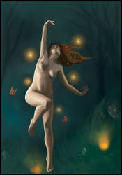 Aine of Knockaine Midnight by yanikaRed