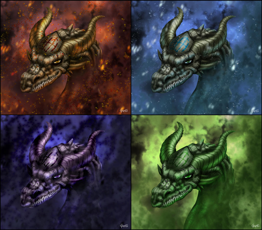 ice elemental dragons - photo #38