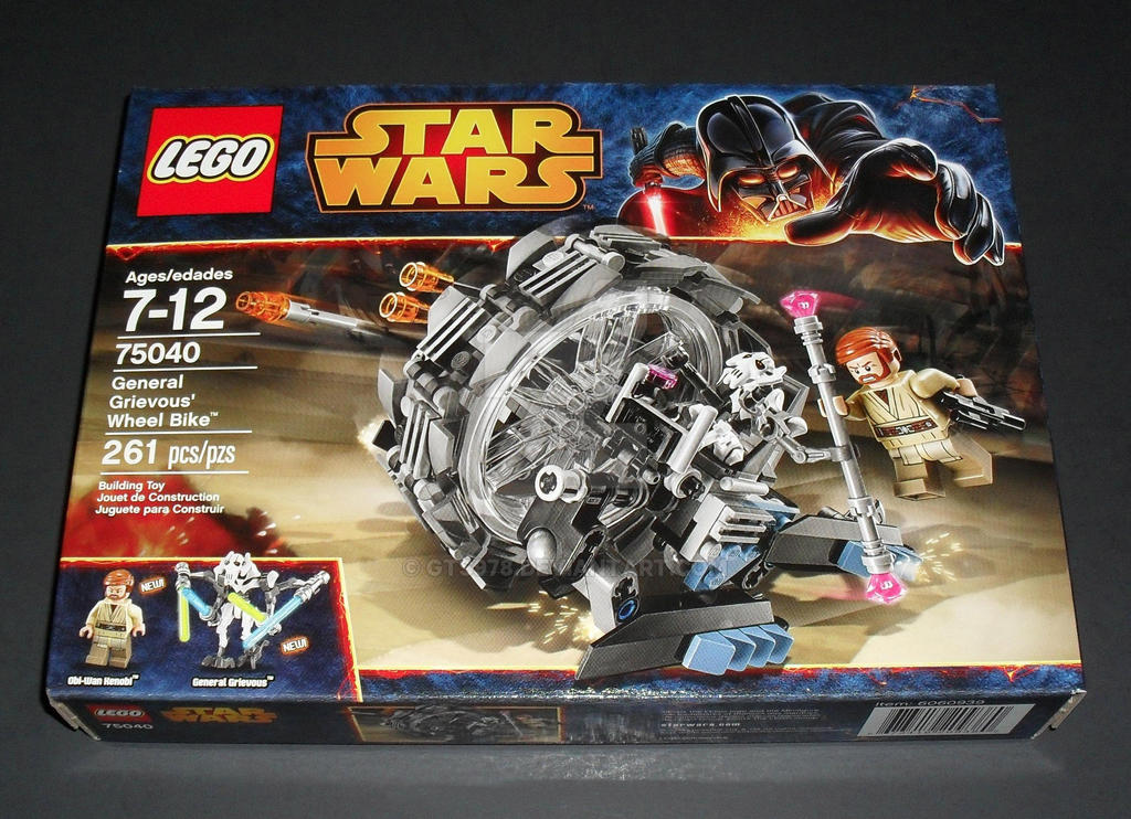 LEGO Star Wars 75040 - General Grievous Wheel Bike by ...