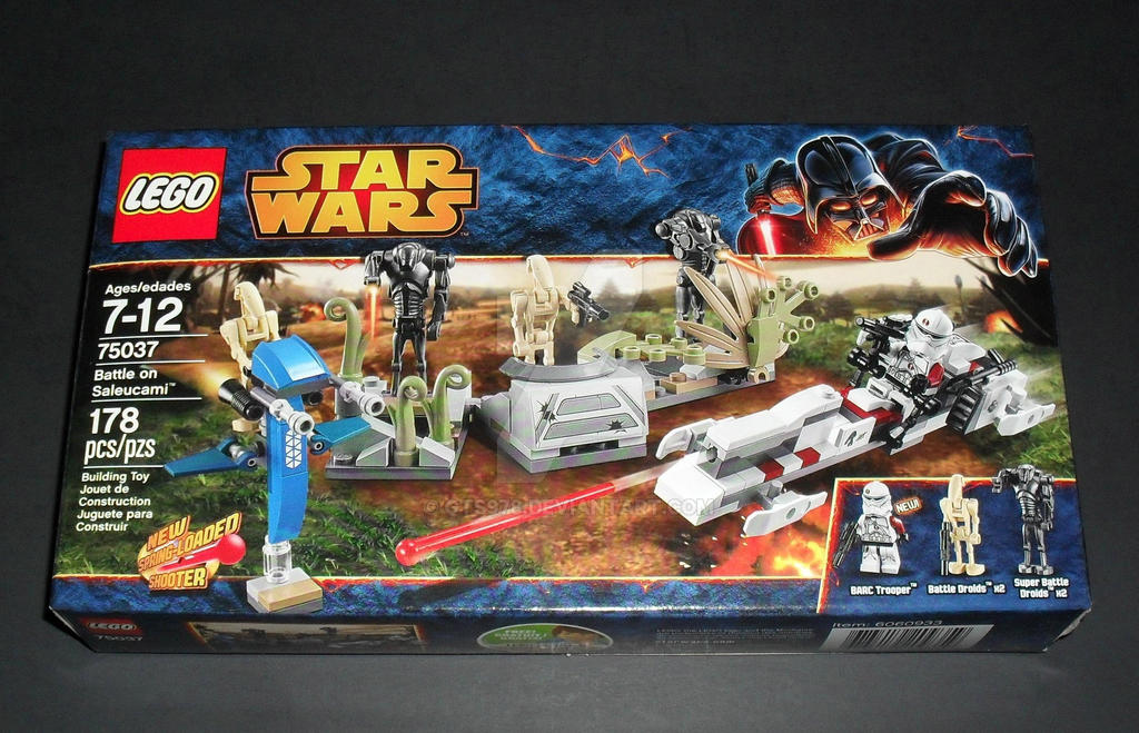 Battle On Saleucami - LEGO Star Wars 75037 by GTS978 on ...