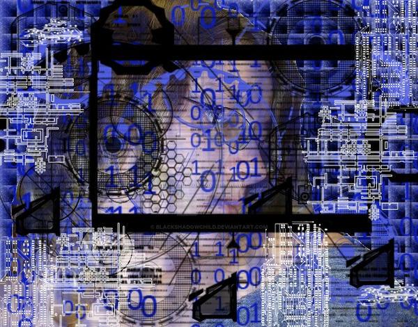 Trapped in a Digital Age by BlackShadowChild