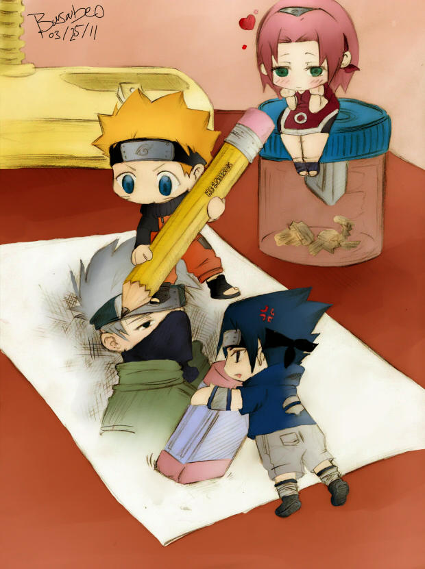 Naruto: The Great Artists
