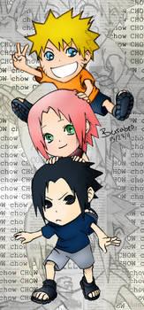 Chibi Naruto - Team 7