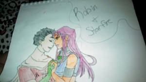 Robin and Starfire Request