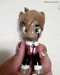 Vincent Tenner (pony version) by MySancuaryLittlePony