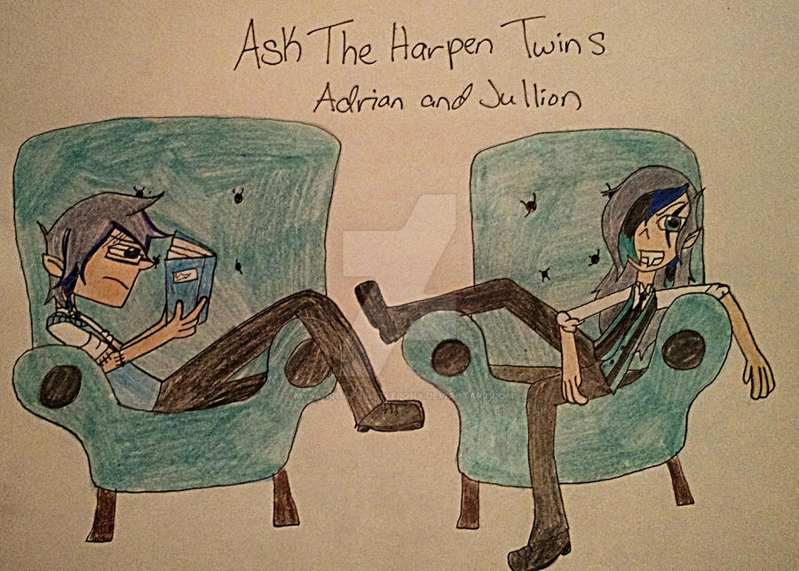 ASK THE HARPEN TWINS (Adrian and Jullion)