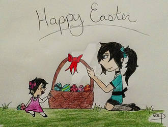 HAPPY EASTER!!!!! by MySancuaryLittlePony