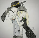 Claude x Clarissa (the 1800s Bonnie and Clyde) by MySancuaryLittlePony