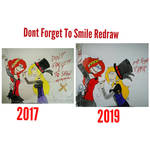 Dont Forget To Smile (The Vengeful Doll) Redraw