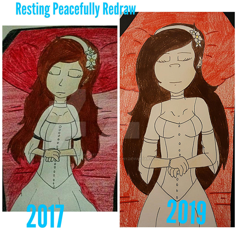 Resting Peacefully Redraw