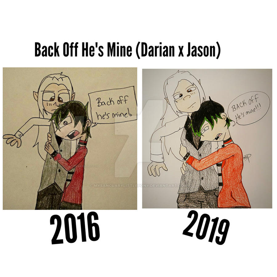 Back Off He's Mine (Darian x Jason) Redraw