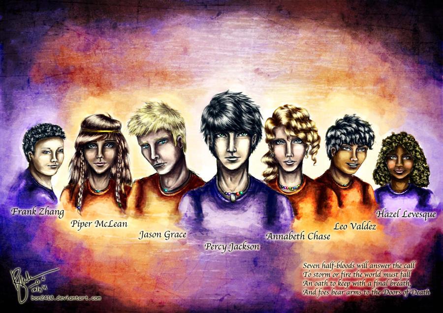 Heroes of Olympus Characters
