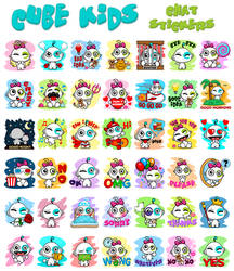 M9 Cube Kids - Chat Stickers