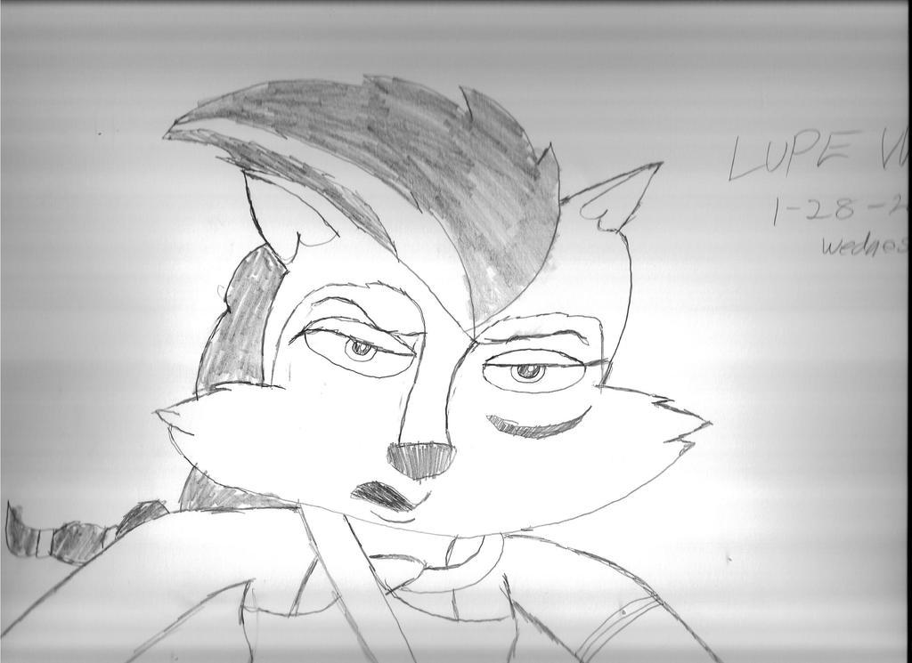 Lupe Wolf by Bluesplendont