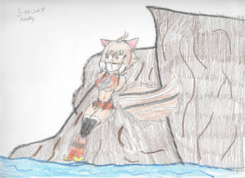 Makoto's descent by Bluesplendont