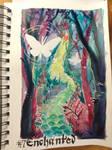Inktober Day 7: 'Enchanted'