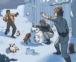 winter training time by myrmidon-mage