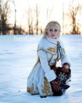Princess Zelda - Breath of the Wild - Winter 3 by HannahEva