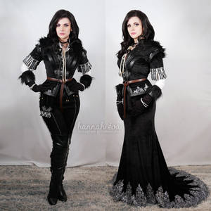 Yennefer - Witcher 3 - Makeup/Costume test