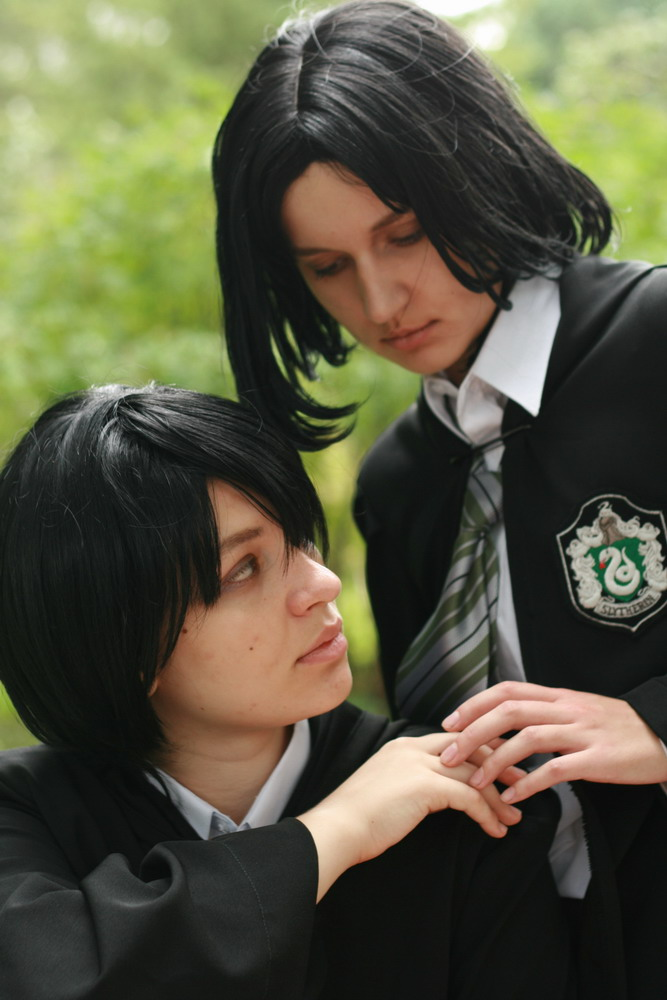 HP cosplay - Black and Snape by love-squad