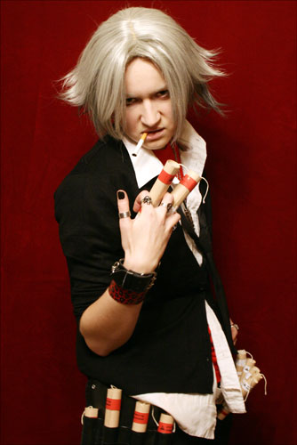 KHR-Smokin Bomb Hayato cosplay by love-squad