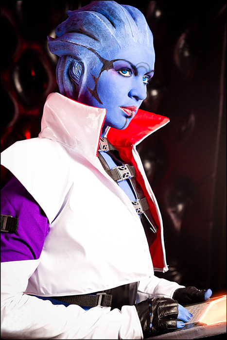Mass Effect 2 - Aria T'Loak by love-squad