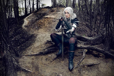 The Witcher saga - Cirilla - The Lady of the lake